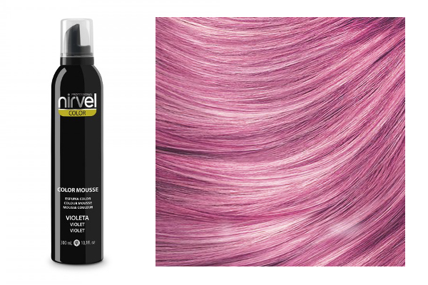 NIRVEL Color mousse – pena VIOLET