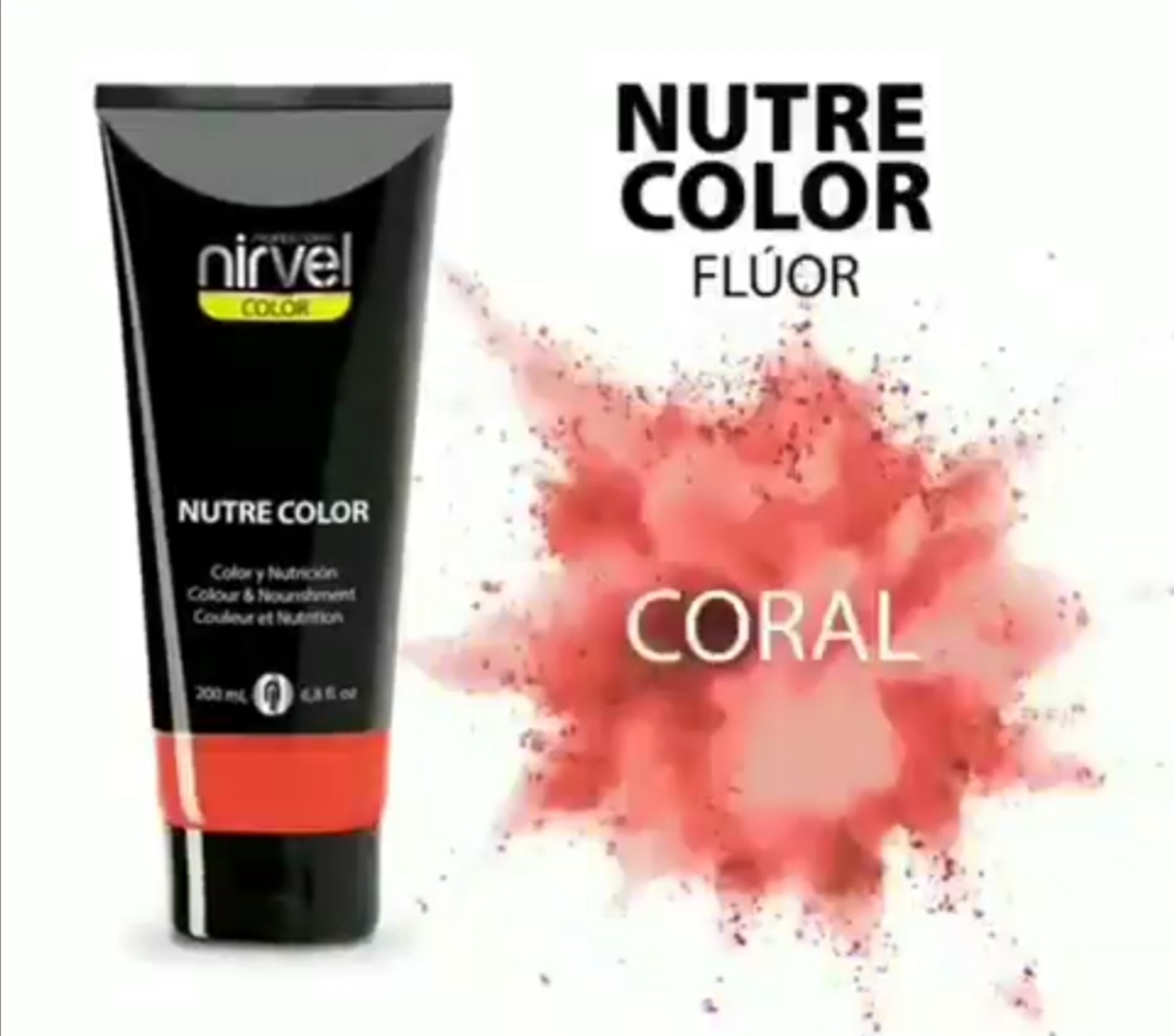 NIRVEL Nutre Color Coral