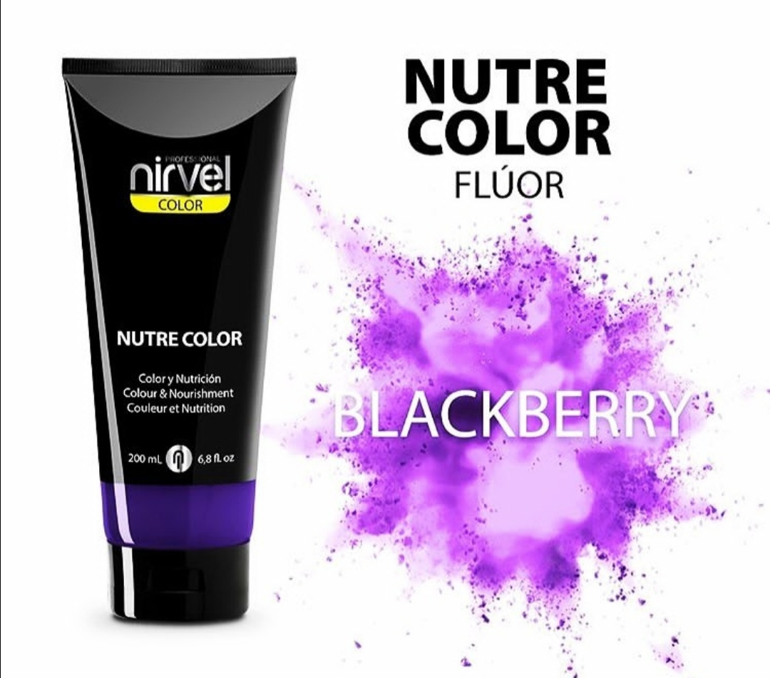 NIRVEL Nutre Color Blackberry