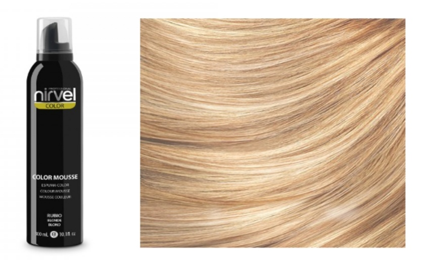 NIRVEL Color mousse – pena BLONDE