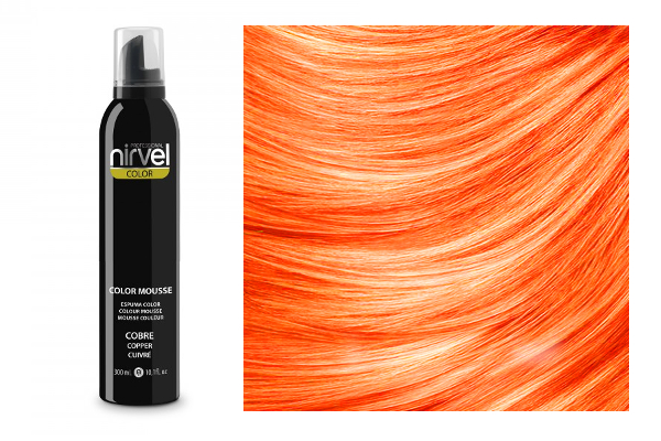 NIRVEL Color mousse – pena COPPER (meď)